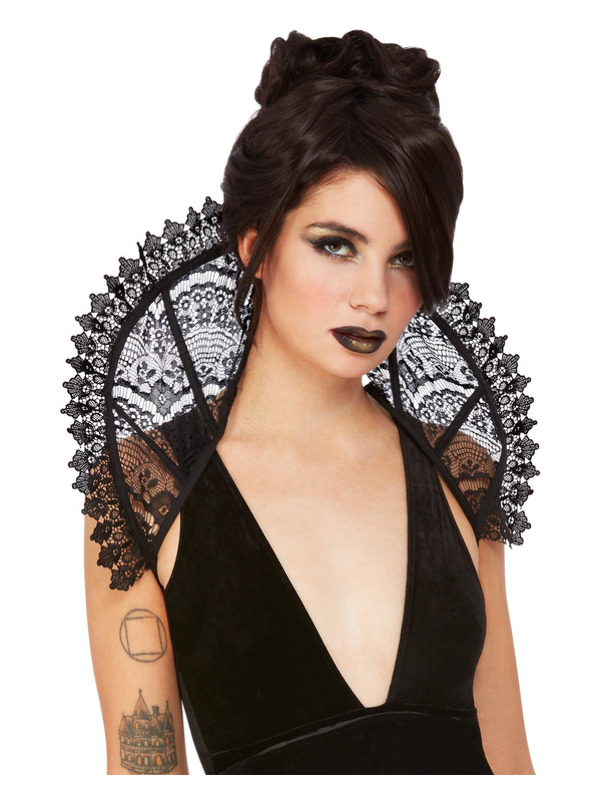 Fever Gothic Lace Stand Up Collar