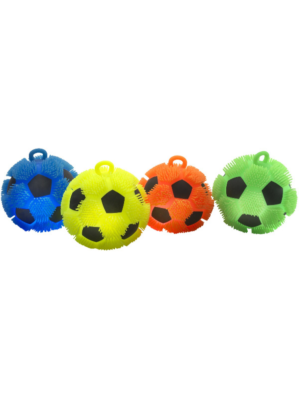 Puffer football assorted light up 18 cm 7in 6