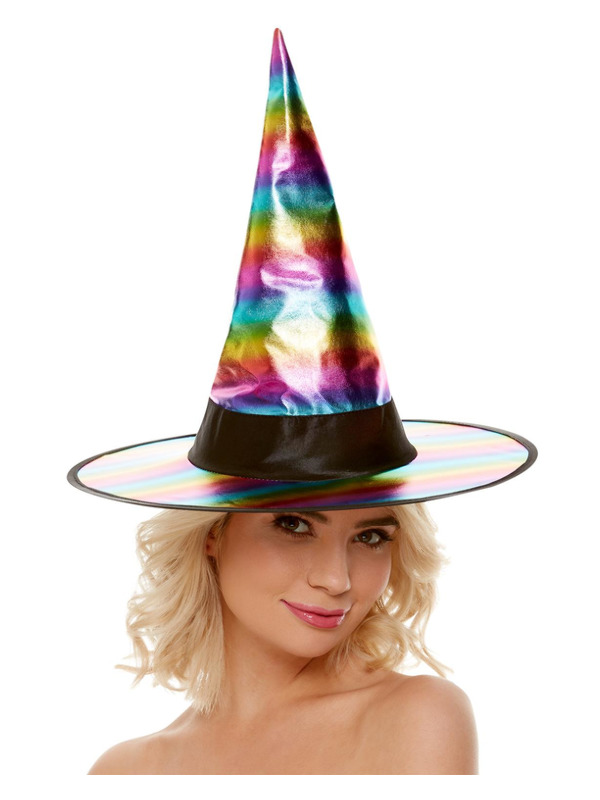 Pretty Witch Rainbow Hat