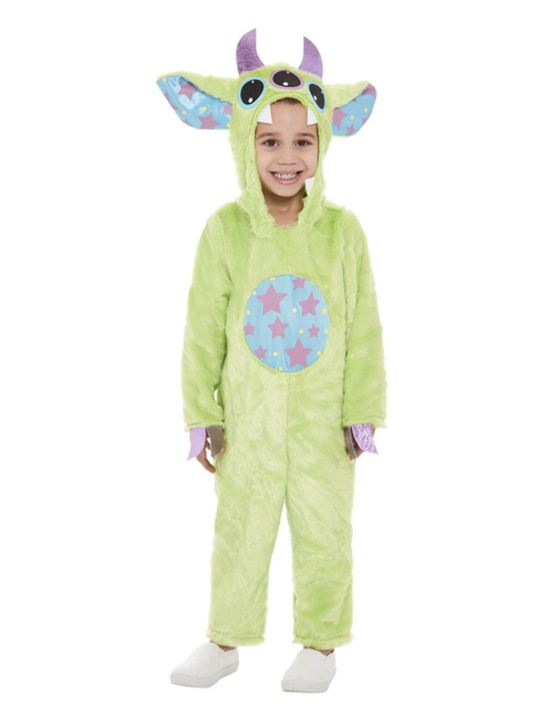 Toddler Monster Costume Green
