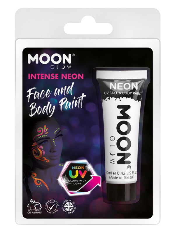 Moon Glow Intense Neon UV Schmink Wit